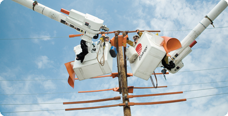 Linemen at Entergy